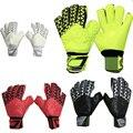 2016 Novas marcas de luvas de futebol de tamanho 8 9 10 dedo luvas de proteção luvas de goleiro Profissional Goleiro De Futebol luvas de látex homem