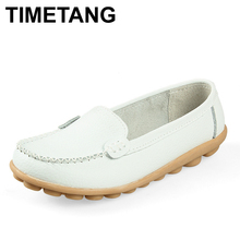 New 2016 Women genuine Leather Shoes Slip-on Ballet women Flats Comfort shoes woman moccasins sapatilhas femininos