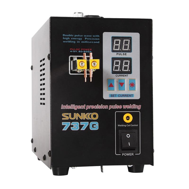 SUNKKO 737 г точечный сварочный аппарат 18650 кВт Светодиодный светильник Точечный сварочный аппарат для аккумуляторной батареи прецизионные импульсные точечные сварочные аппараты