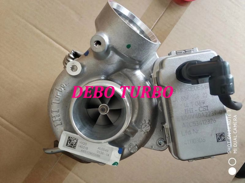NEW GENUINE IHI VV20 A6510900086 Turbo Turbocharger for Mercedes Benz C180 C200 GLK220 <font><b>OM651</b></font> 2.2L 88KW 100KW image