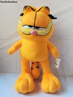 lovely cartoon garfield plush toy large 50cm soft plush toy throw pillow birthday gift w2789
