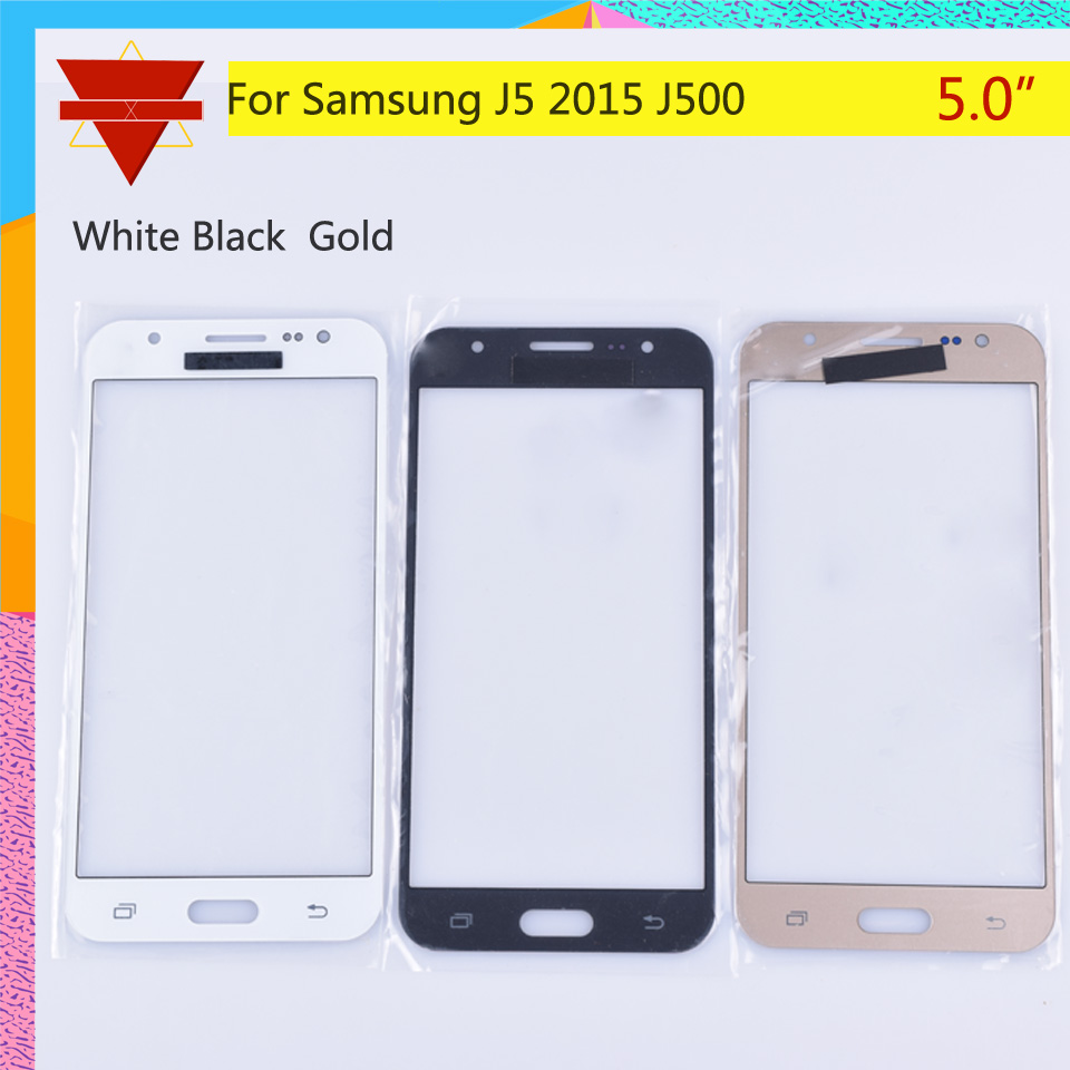 50Pcs lot For Samsung Galaxy J5 2015 J500 J500H J500FN J500F SM J500F Touch Screen Front