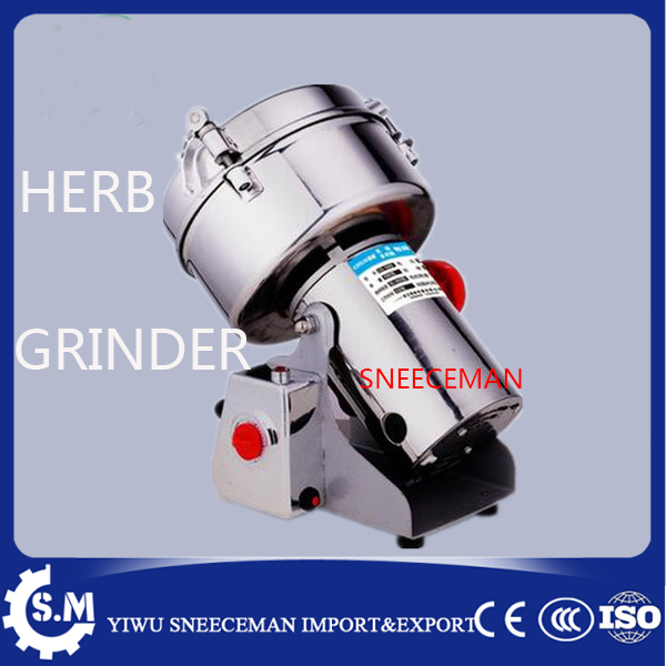 commercial 1000g stainless steel Swing type Chinese medicine grinder pulverizer flour mill superfine electronic herb grinder stainless steel commercial chinese herbal medicine grinder electric grinding maching pulverizer 220v 2200w 1pc
