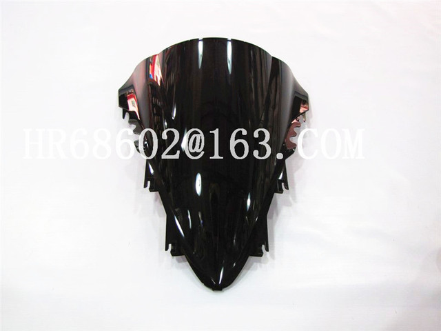 HotSale For Yamaha YZF 1000 R1 2007 2008 black Windshield WindScreen Double Bubble yzf r1 07 08 CC