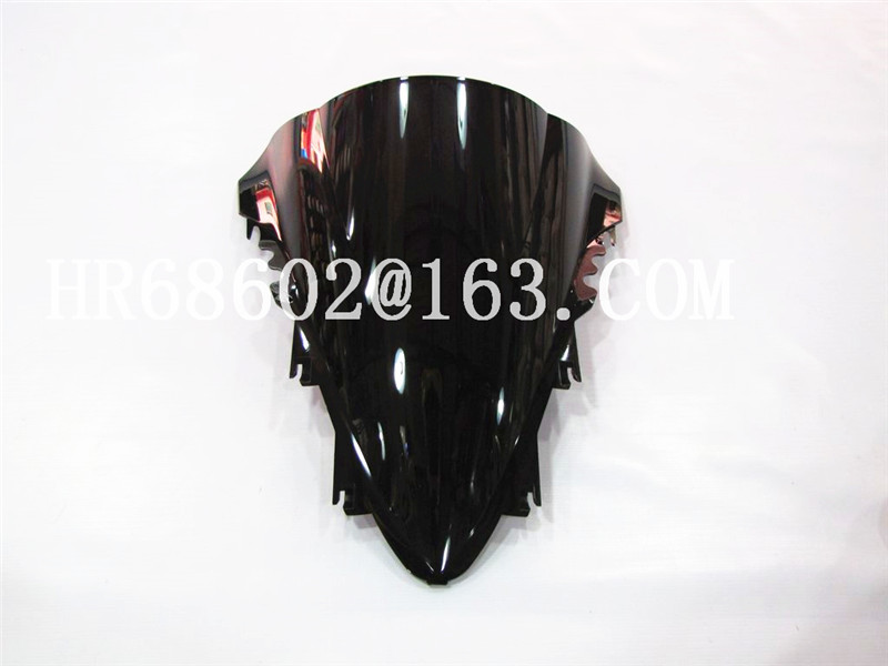 HotSale For Yamaha YZF 1000 <font><b>R1</b></font> <font><b>2007</b></font> 2008 black Windshield WindScreen Double Bubble yzf <font><b>r1</b></font> 07 08 CC image