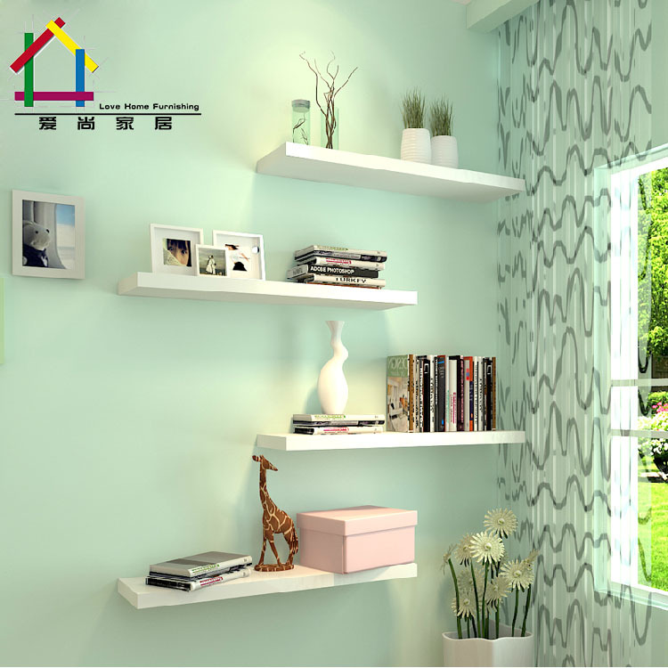 Home Creative Wooden Wall Decorative Shelves High Quality Storage Hanging Holders Living Room Bedroom Organizer Decoration WZ In Bathroom From