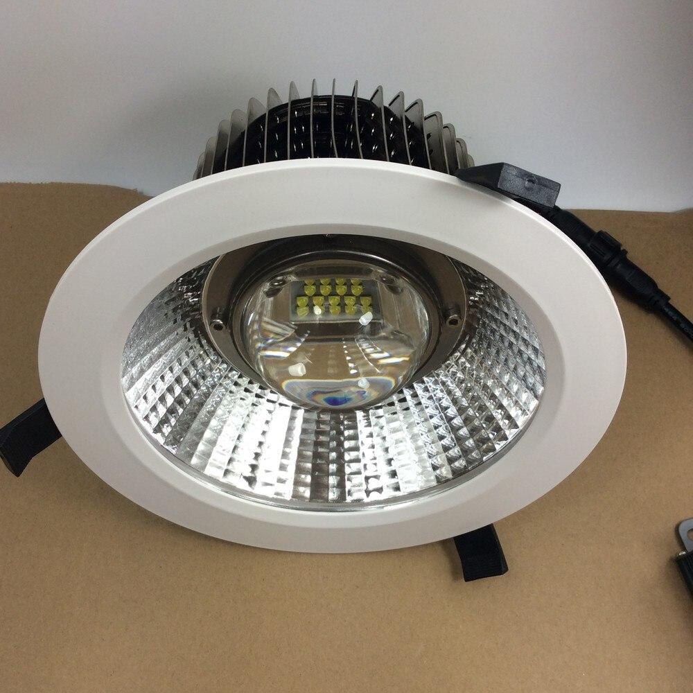 Centre commercial de Downlight de la puissance élevée 50 W 60 W 80 W LED/grand Hall/Structure lumineuse superbe d'ailerons de salon