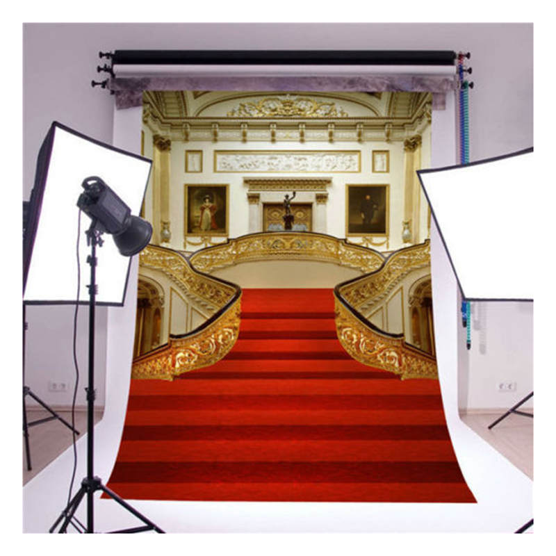 MAHA Hot castle photography backdrops vinyl 5x7ft luxury wedding background photo props