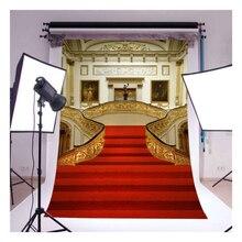 Маха Горячая замок фотографии фонов винил 5x7ft роскошные свадебные фон для фотосессий