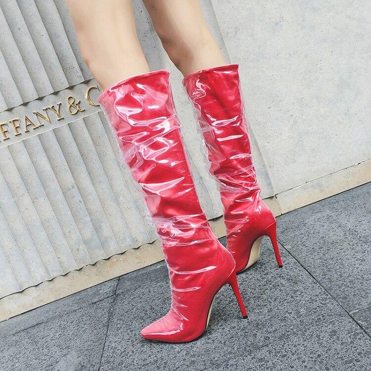 Luxe Solide Star Lady Cool Marque Chaussures Chaussons Bottes De Mince Piste Talons Chic Haute Long Super Femme As Pic Chaude Cuissardes as Pic Élégant waIZ0v8qx