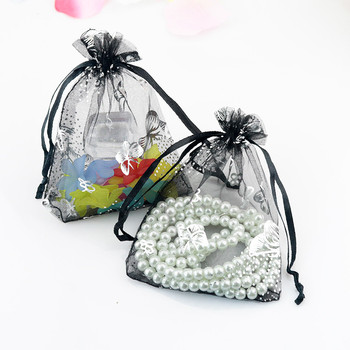 Butterfly Organza Bags 500pcs/lot Wholesale 13x18cm For Christmas Wedding Holiday Decoration Gift Jewelry Storage Pouches