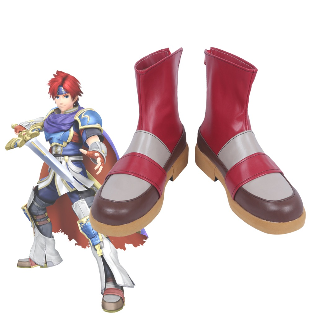 Details about  /Fire Emblem Sealed Sword Roy Cosplay Shoes Boots Cos Shoes