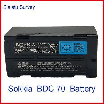 NEW SOKKIA / TOPCON BDC70 Li-ion battery 7.2V 5240mAh FOR Total Station / GPS