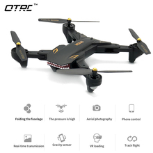 (XS809HW Upgraded) 0.2MP Camera Drone RC Quadcopter Wifi FPV Foldable Drones One Key Return Altitude Hold G-sensor Phone Control недорого