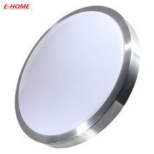 Led ceiling lamp circular aluminum acrylic contracted and contemporary sitting room  bedroom Ceiling light High Brightness SMD