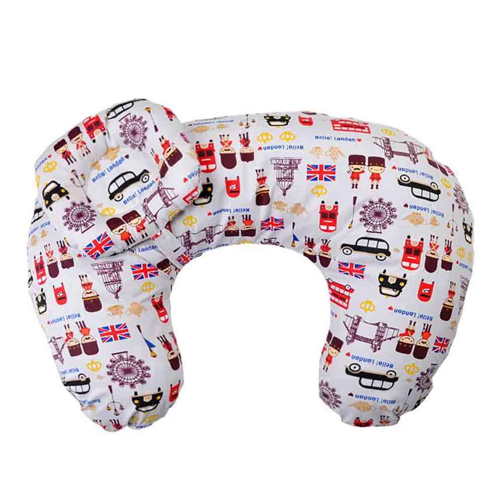 2 шт./компл. новорожденный уход для кормления хлопок поясничная Подушка для беременных Детские подушки для кормления младенцев Спящая кукла для кормления подушка - Цвет: 17