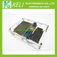 2016 Latest LCR T4 ESR Meter Transistor Tester Diode Triode Capacitance Mos Mega328 Transistor Tester CASE