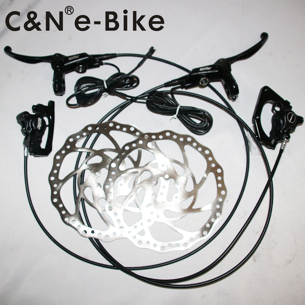 2018 New Sale TEKTRO E715 Hydraulic Disc Brake 203MM For Electric Bike