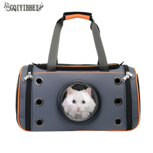 GQIYIBBEI  Breathable Pet Handbag Shoulder Carrier Bag Portable Outdoor Cat Dog Folding Teddy Travel Space Organizers