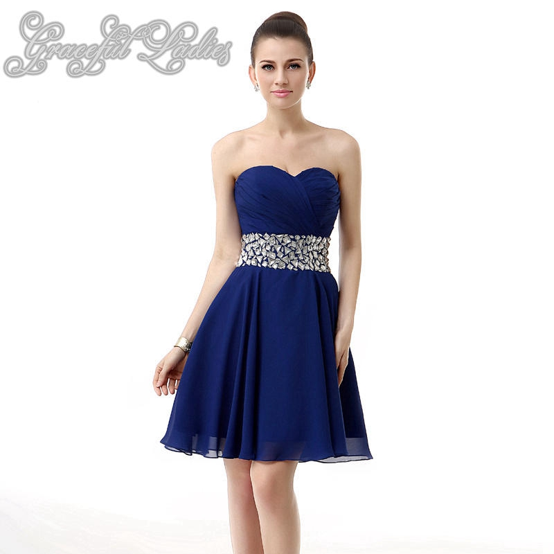 Popular Short Royal Blue Prom Dress-Buy Cheap Short Royal Blue ...