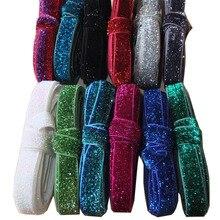 """Elastische """"Glitter gummibänder DIY"""