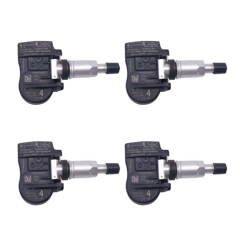 Для 2009-2020 Nissan NP300 433 МГц датчик давления в шинах, шина датчик давления воздуха 407005663R 407003VU0A 407003VU0B 40700-3VU0A 40700-3VU0B