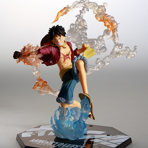 Image 2 - Anime One Piece Ronoa Zoro Ghost 3D2Y Three knife Ghost Cut Ver. Sauron PVC Action  Collection Figure Model Gift Luffy 21cm