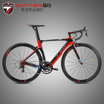 TWITTER 700C Road Bike T10 Carbon Fiber Cycling Bicycle Ultegra 20 Speed 22 Speed Bicicleta 40MM Wheelset and 23C Tyre screenshot