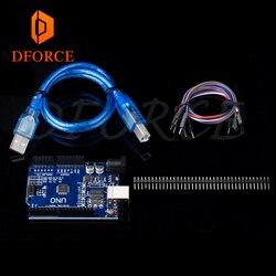 DFORCE Uno Bootloader мигающий Набор для ender 3 cr10 CR-10 3D принтер прошивка запись Arduino Uno R3 совместимая плата