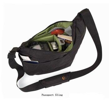 Nuovo Lowepro Passport Sling # Passport Sling II Sacchetto Della Macchina Fotografica una Custodia Protettiva Sling Bag per un Compatto DSLR o CSC
