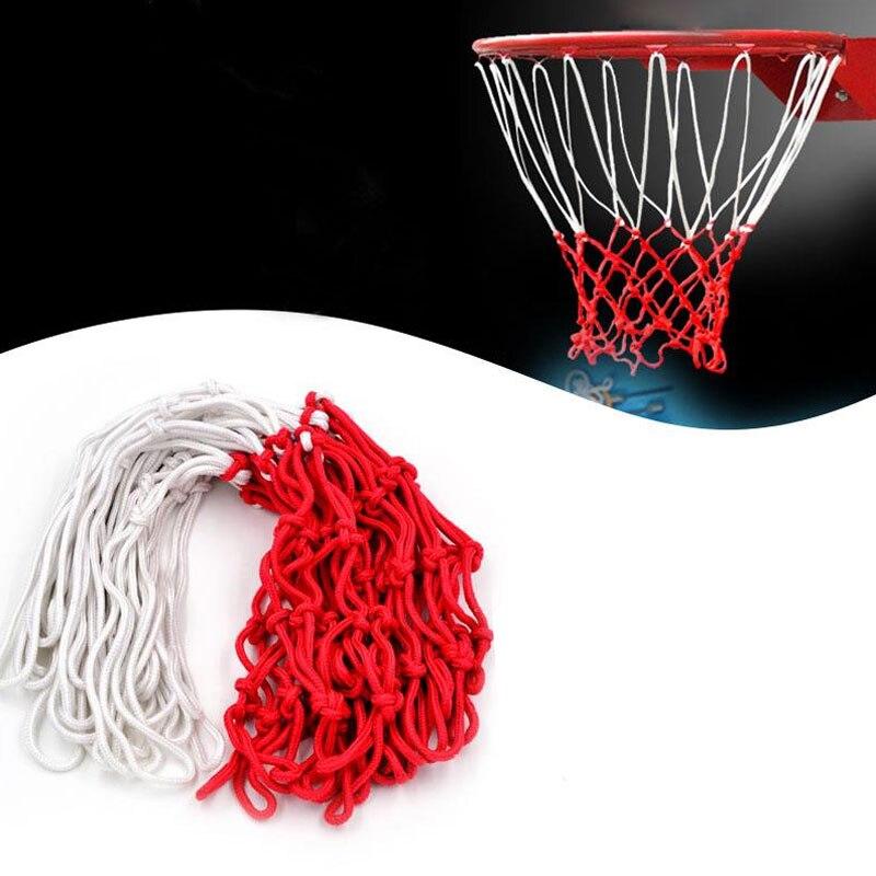 Оправа тяжелый Баскетбол Чистая нейлон обруч цель обода сеточку Bold Тип прочный Стандартный нейлон Нитки спортивные Баскетбол кольца Лидер ... ...