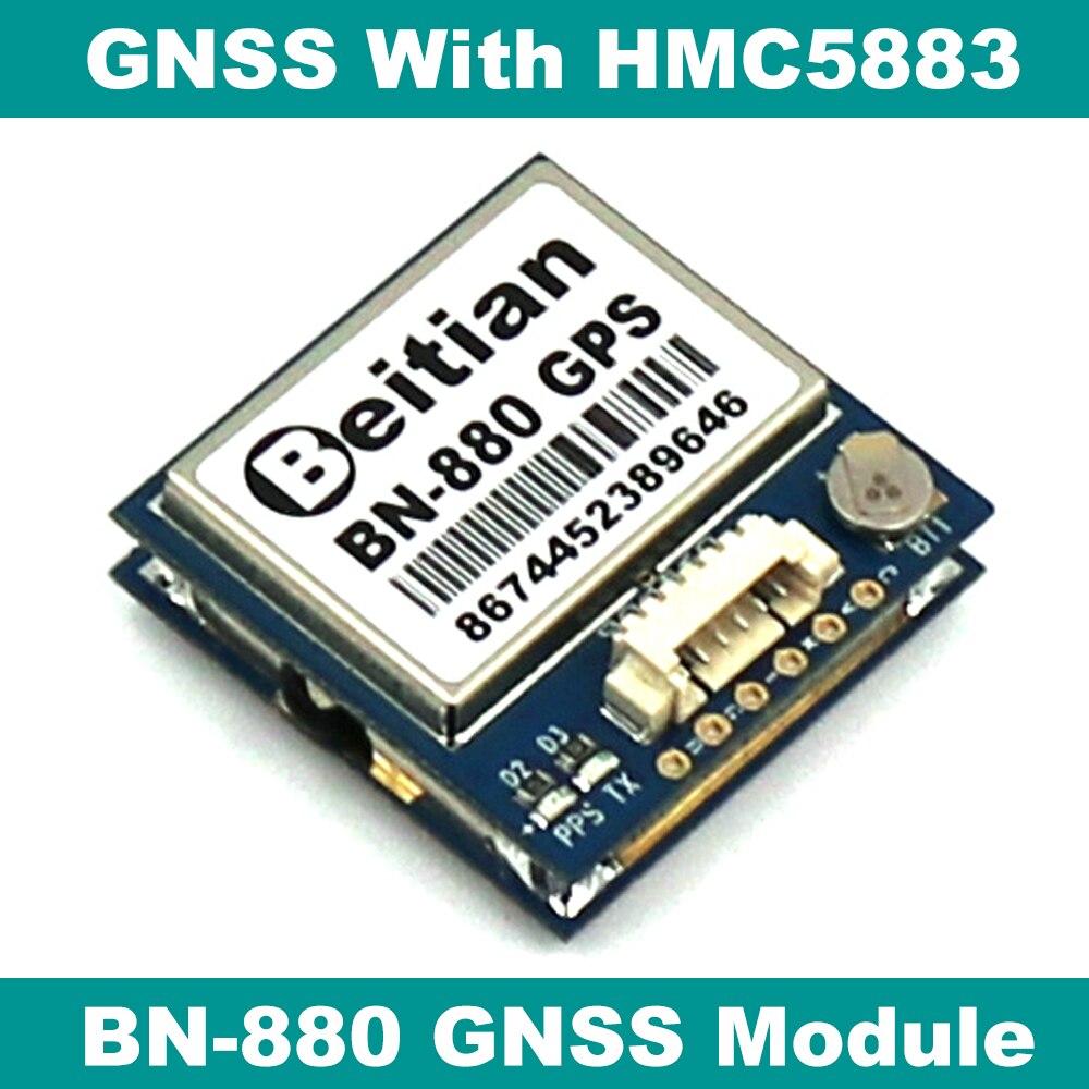 BEITIAN Gnss-Module Gps Glonass BN-880 Compass HMC5883L Dual-Flight-Control PIX4/PIXHAWK