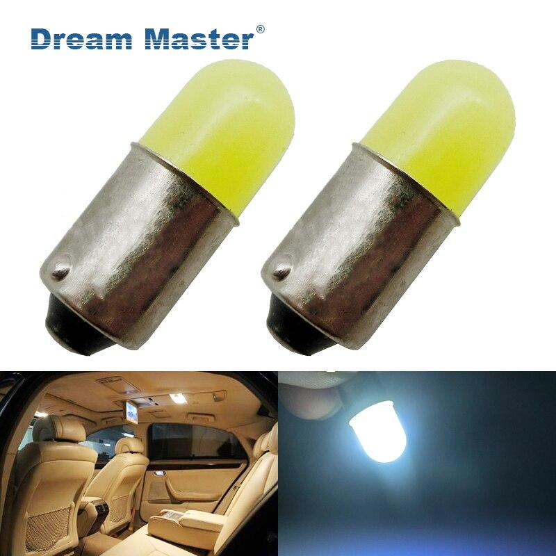 2 шт. BA9S T4W 363 1895 233 супер яркий Круглый 3D УДАРА светодиодный автомобилей номерных знаков свет авто межкомнатных дверей лампа габаритные лампы...