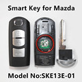 Car Smart Remote Key for MAZDA 2 3 5 6 M2 M3 M5 M6 Demio Axela Premacy Atenza (Fits Mitsubishi SKE13E-01)