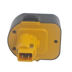 Image 4 - 2000 mAh 12V Ni CD Power Tool Batteria per Dewalt 152250 27 397745 01 DC9071 DE9037 DE9071 DE9074 DE9075 DE9501 DW9071 DW9072