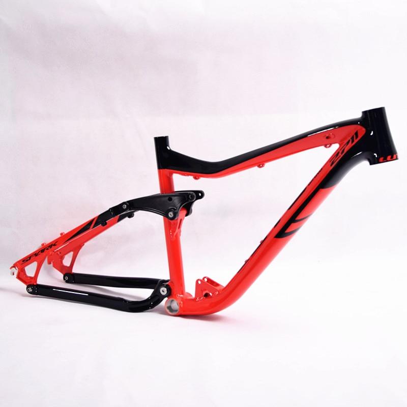 LUTU Full Suspension Aluminium frame Alloy MTB Mountain DH Cycling ...