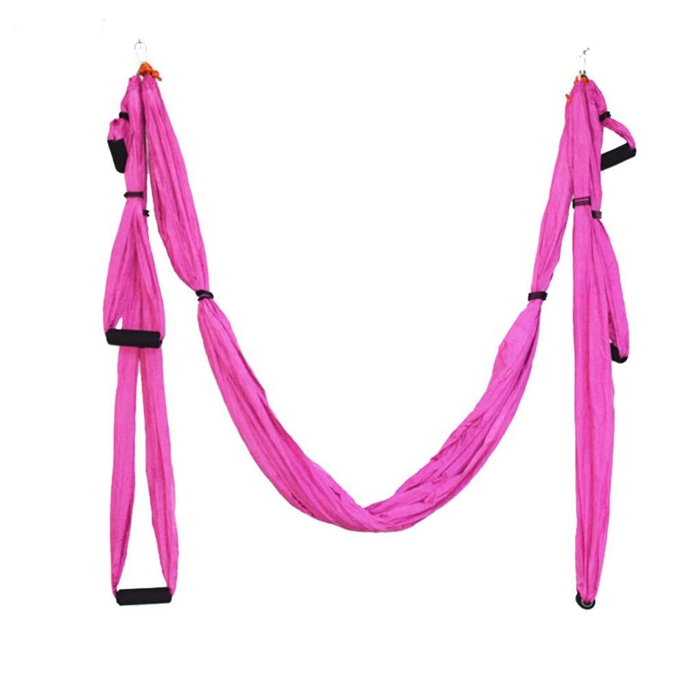 Yoga hamac balançoire Parachute tissu Inversion thérapie Anti-gravité haute résistance décompression hamac Yoga Gym suspendu