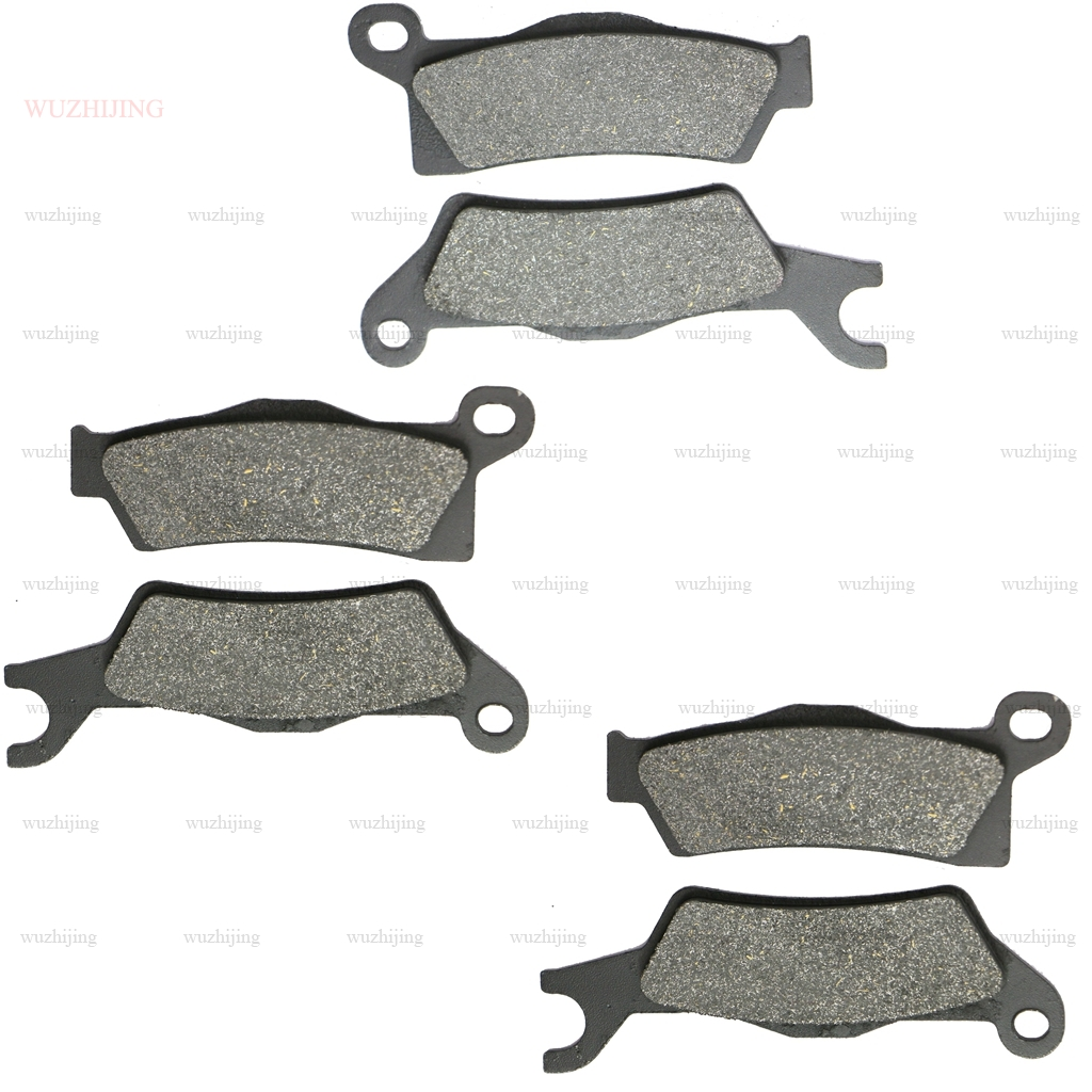 FRONT REAR BRAKE PADS FIT CAN-AM COMMANDER MAX 1000 2014-2017