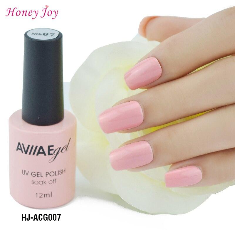 Gel Nail Polish Light Pink: AVIIAE Baby Pink Gel Nail Polish Long Lasting Nail Gel
