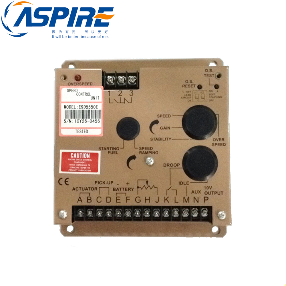 free shipping diesel generator electronic governor controller ESD5550E speed control esd5550e generator diesel governor page 8