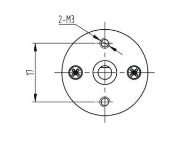 JGA25-310 Micro Motor Da Engrenagem Da CC,