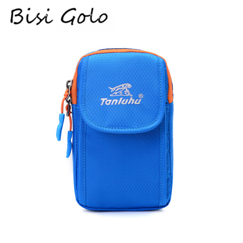 d68f788cd567 BISI GORO 2019 pasaporte ID de tarjeta titular cuello colgante de  almacenamiento embrague Jogging de Nylon resistente al agua bolsa de brazo  de tarjeta de ...