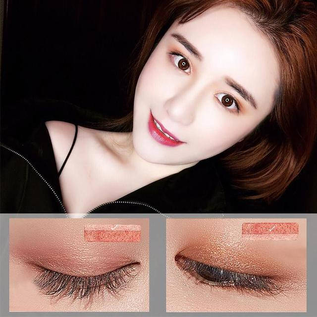 Professional Brand Eyeshadow Pallete Two Color Waterproof Pigment Double Color Shimmer Nude Eyeshadow Makeup Palette 3