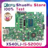 KEFU X540L Für ASUS X540LJ F540L CPU I5-5200U 4 gb Speicher rev2.1 laptop motherboard getestet 100% arbeit original mainboard
