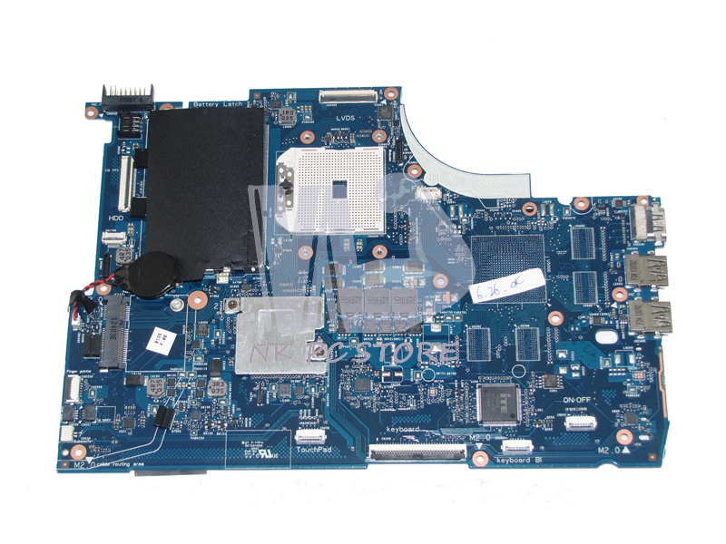 720577-001 720577-501 Main Board For HP Envy Touchsmart 15 15-J Laptop Motherboard Socket FS1 DDR3 815248 501 main board for hp 15 ac 15 ac505tu sr29h laptop motherboard abq52 la c811p uma celeron n3050 cpu 1 6 ghz ddr3