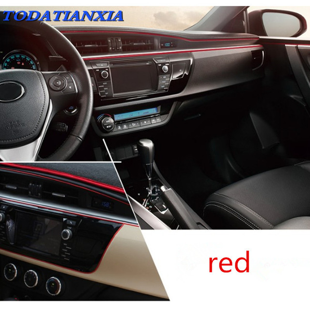 2018 heat Car Interior Atmosphere Lights Styling For Dacia duster ...