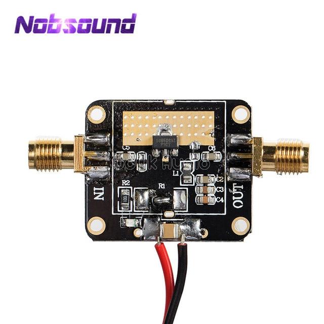 50M 6GHz Medium Power RF Amplifier Module Broadband Gain Amplification 20dB