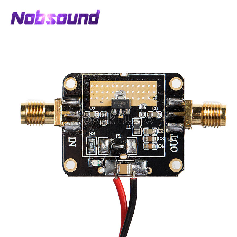 50M-6GHz Medium Power RF Amplifier Module Broadband Gain Amplification 20dB image
