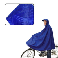 Blue Cycling Rainproof Raincoat Bike Bicycle Poncho Rain Cape Gear For Audlts
