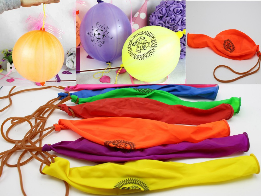 5 x LARGE PUNCH BALLOONS TOY BOYS GIRLS FAVORS LOOT BIRTHDAY PARTY BAG FILLERS